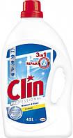 Засіб для миття вікон і скла Clin професійний 4.5 л, фото 1