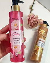 Гель для душа Top Beauty с шиммером 250мл Розовый