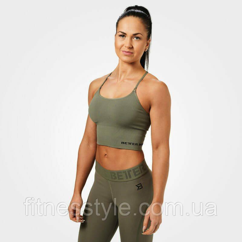 Спортивный топ Better Bodies Astoria seamless bra, Wash Green
