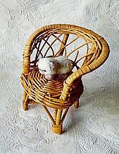 Мініатюра. валяного котик для невеликої ляльки