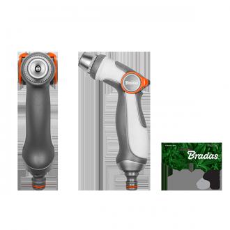 Пістолет поливальний регульований, SMOOTH CONTROL, WHITE LINE, WL-EN54M Бренди Європи, фото 2