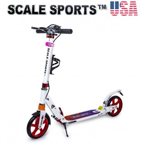 Городской двухколёсный Caмoкaт складной Scale Sports USA