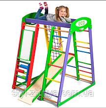Спортивний дерев'яна яний комплекс для дітей ECO