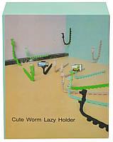 """Тримач для телефону гнучкий універсальний з присосками """"Змія"""" Virus Holder (мікс кольорів) (7304), фото 7"""