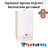 Котел Teplowest Optima АГД-24-C турбо + безкоштовна доставка
