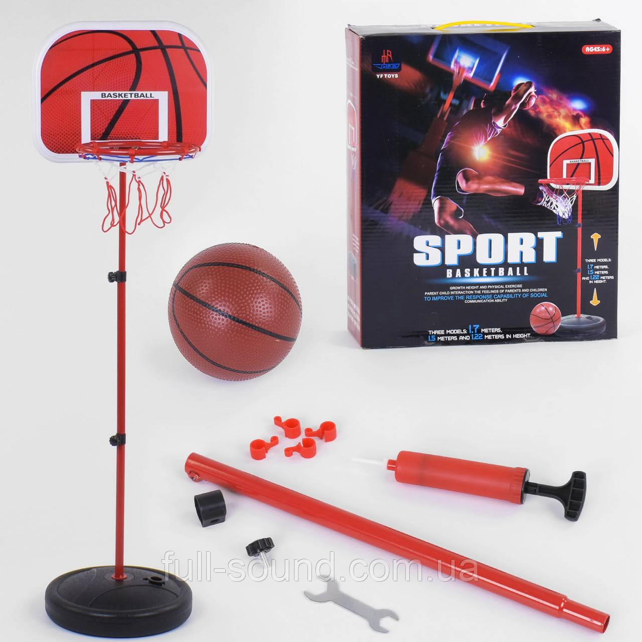 Баскетбол на стійці з м'ячем 8808-1