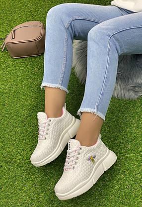 Кросівки жіночі 6 пар в ящику білого кольору 36-40 ↓ ПРОЧИТАЙТЕ ОПИС ↓, фото 2