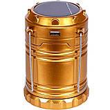 Фонарь кемпинговый на солнечной батарее, фото 5