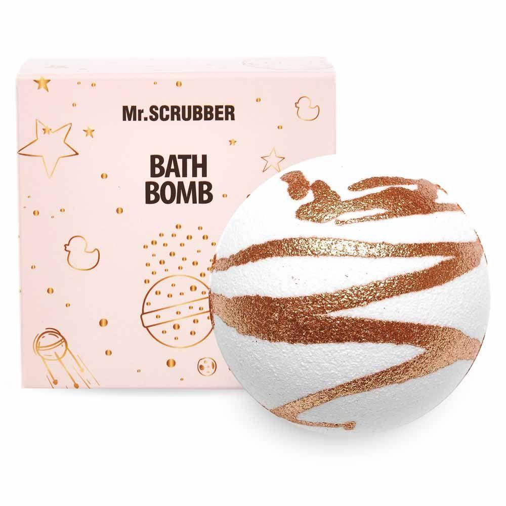 Бомбочка для ванны в подарочной коробке Золото Mr.SCRUBBER