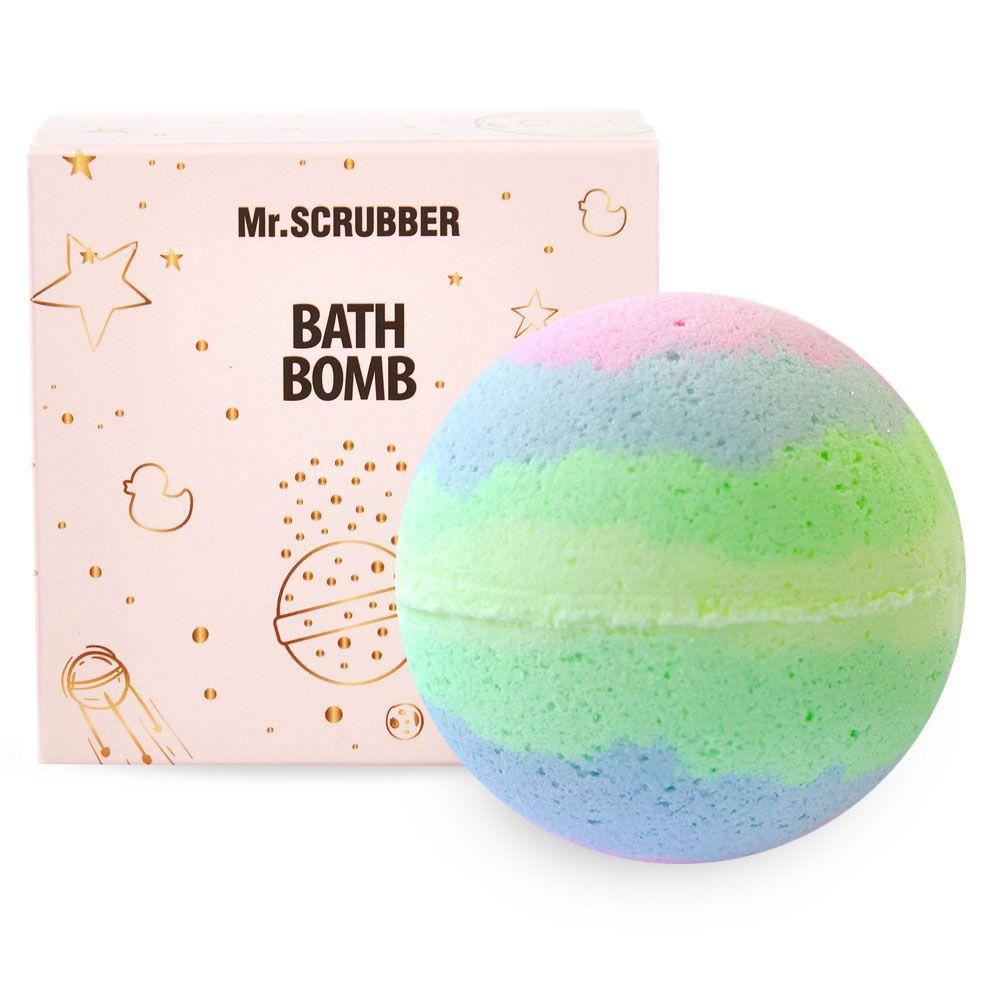 Бомбочка для ванны в подарочной коробке Тропик Mr.SCRUBBER