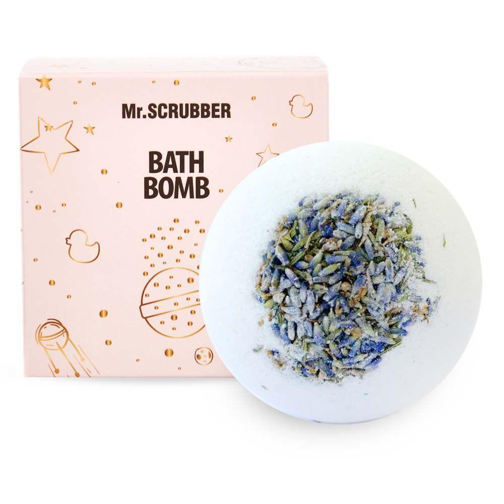 Бомбочка для ванны в подарочной коробке Лаванда Mr.SCRUBBER