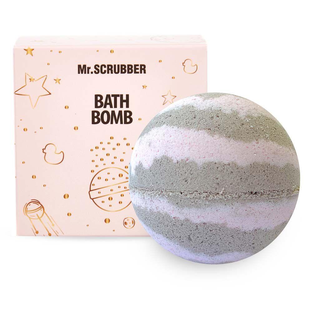 Бомба для ванни в подарунковій коробці Ваніль-шоколад Mr.Смуги навігації