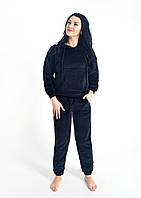 Женский костюм с капюшоном из плюшевого велюра , фото 1