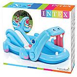 Водний ігровий центр з гіркою Бегемотик Intex 57150, фото 3