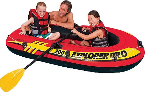 Дитячий надувний човен Explorer Pro 200 Intex 58356