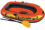 Дитячий надувний човен Explorer Pro 200 Intex 58356, фото 4