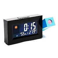 Годинник метеостанція з проектором часу 8290, фото 1