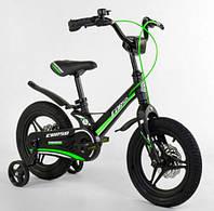 """Велосипед 14"""" Corso MG-03053 магниевая рама, литые диски, дисковые тормоза"""