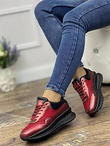 Кросівки жіночі 8 пар в ящику червоного кольору 36-41