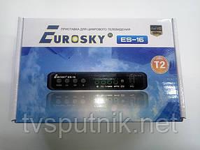 Комплект тюнер Eurosky ES-15 + USB адаптер LAN