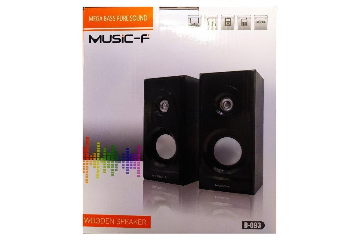 Компьютерные колонки Music-F D-093