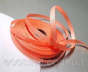 РЕПСОВА стрічка 0,6 см 23 метри, стрічка репс помаранчевий (сп7нг-5764)