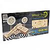 Деревянный механический конструктор Wood Trick Пистолет М1. Техника сборки - 3d пазл