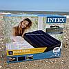 Матрас Intex надувной одноместный велюровый, кровать 76х191х25 см (64756)