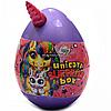 Игровой набор Данко Тойс «Unicorn Surprise Box» Яйцо единорога, фиолетовое русский язык, 30х20 см (USB-01-01)