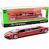 Машинка игровая металлическая Автопром «Lamborghini Aventador» Красная 6621L