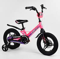 """Велосипед 14"""" Corso MG-04064 магниевая рама, литые диски, дисковые тормоза"""