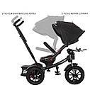 Детский трёхколёсный велосипед «TURBOTRIKE» M 4056HA-20-4, поворотное сиденье, регулируемый руль, ровер, фото 3