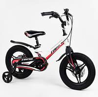 """Велосипед 14"""" Corso MG-05078 магниевая рама, литые диски, дисковые тормоза"""
