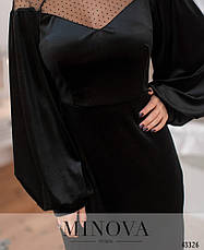 Платье женское весеннее №215-черный|42|44|46|48р., фото 3
