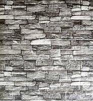 Стеновые 3D панели самоклеющиеся Sticker Wall 25 Панель 3D стеновая  Серый сланец 69 см X 78 см  2000000547602