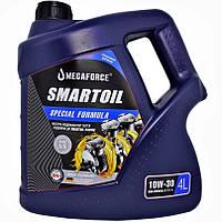 Масло моторне напівсинтетичне SmartOil 10W-30, 4 л.