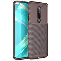 Чехол Carbon Case для OnePlus 8 Brown