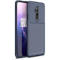 Чехол Carbon Case для OnePlus 7T Pro Blue
