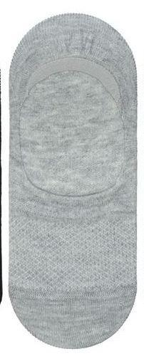 Детские невидимые носки - следки Bross серые
