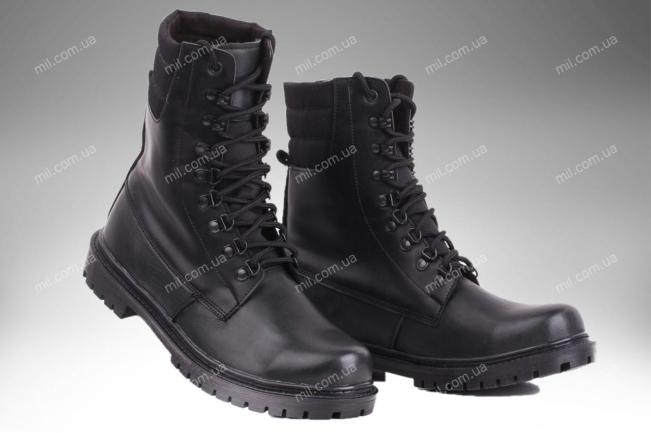 Берцы демисезонные / военная, рабочая обувь ШТУРМ (черный)