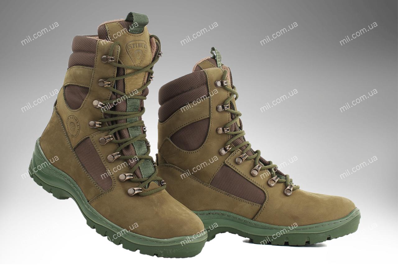 Берцы демисезонные / военная, тактическая обувь GROZA (оливковый)