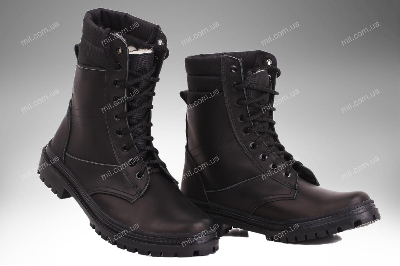 Берцы демисезонные / военная, рабочая обувь ПАНТЕРА II (черный)