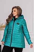 Женская куртка большого размера, женская куртка демисезонная, женская куртка на весну больших размер