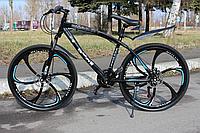 """Велосипед стальной на литых дисках 26"""" BMW рама 17"""" Чёрный, фото 1"""