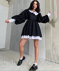 Платье с воротником / арт.003