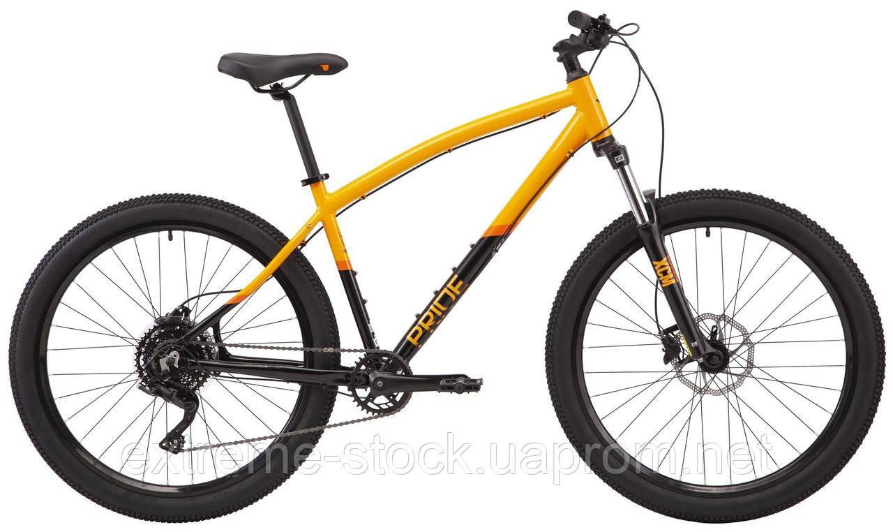 Велосипед 27,5` Pride RAGGEY  2021 оранжевый M