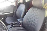 Авточехлы Chevrolet Aveo Sedan (T250) 2006 2011 (Экокожа) Чехлы в салон Серые