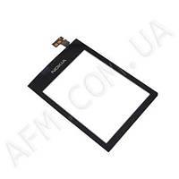 Сенсор (Touch screen) Nokia 300 Asha чёрный оригинал