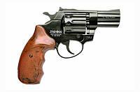 """Револьвер под патрон Флобера PROFI 3"""" (пластик под дерево)"""