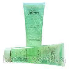 Контактний гель для мікрострумів Jinzidi Spotless Opgrage Gel 300 ml Green Коричневий, фото 2
